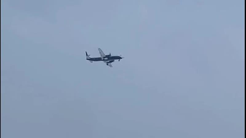 Видео второго полёта Ил 114 300
