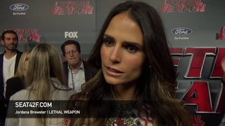 Jordana Brewster LETHAL WEAPON Red Carpet Interview