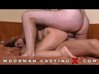 [woodmancastingx] zoe valami (casting x 160 / ) [anal, brunette, blowjob, dp, casting, threesome, hardcore]