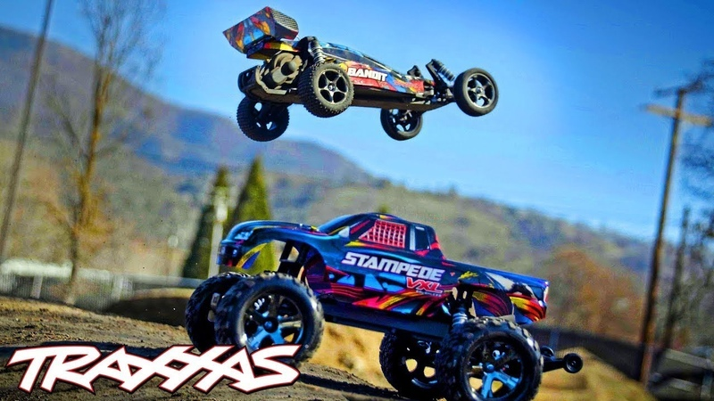 Dirt Jumping Fun with the Bandit Stampede VXL Traxxas