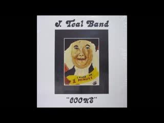 J. Teal Band * 77 - ' Cooks ' alb. ( Mother Cleo Records vinyl )