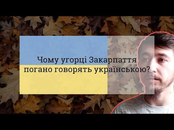 Чому угорці Закарпаття погано володіють українською