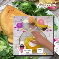 id_53755 Блинный торт с бананами и сливочным кремом 🥞🍌🍫  Автор: Chef Club  #gif@bon