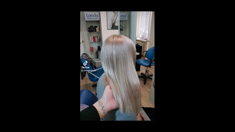 Totalblond farmavita work haircolor haircoloristwork hair hairvideo