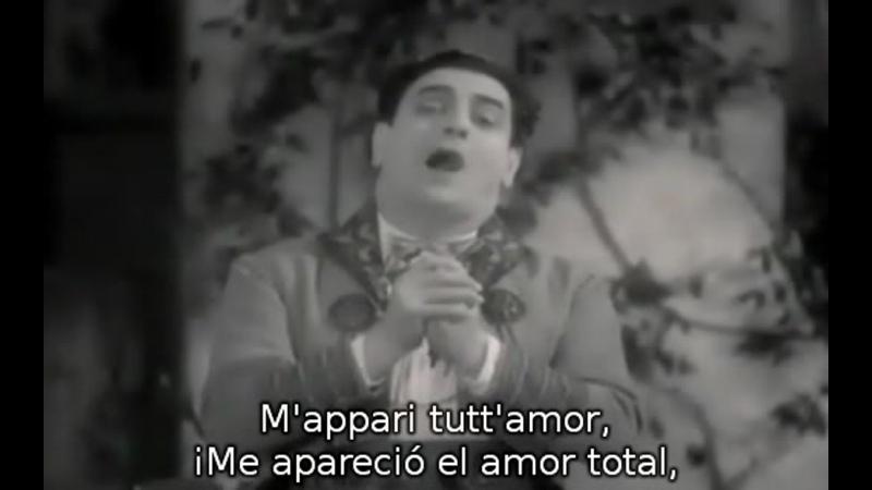 Tito Schipa - Mappari tuttamor de Martha de von Flotow, 1933.