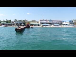 Морская прогулка, Карадагский заповедник, пгт.Коктебель, Крым. Видео- 4 июля 2020 год.