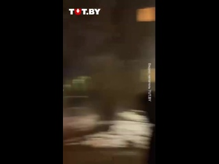 Акция солидарности во Фрунзенском районе вечером 18 марта