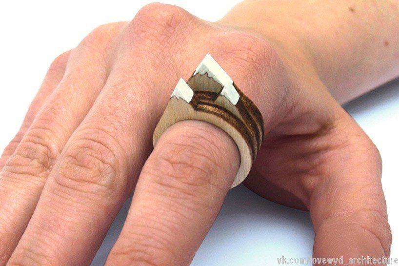 Landscape Rings creates vistas upon fingers