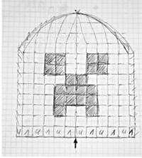 вязаные шапки майнкрафт крючком схемы