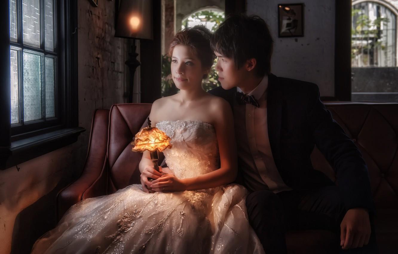 Свадебная фотосессия интерьер
