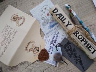 И снова подарок девочке, увлеченной Гарри Поттером