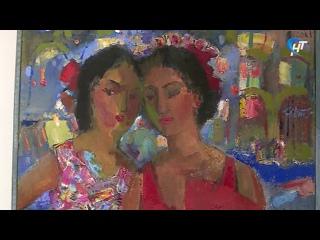 В музее изобразительных искусств отрылась авторская выставка художника Ольги Гулевич