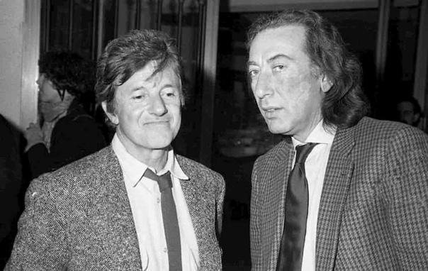 da sinistra Mario Marenco e Alfredo Cerruti