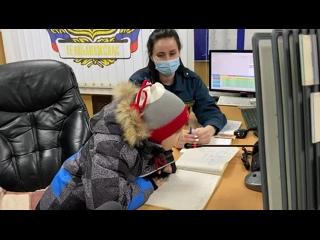 Сегодня в Отрадном служащие 131-й пожарной части исполнили новогоднее желание 6-летнего Кости Ковальчука