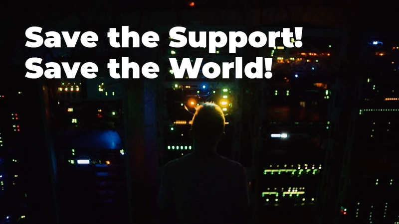 Save the Support Save the World