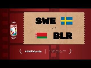 ЧМ-2021. Группа А. 2-й тур. Швеция — Беларусь — 0:1