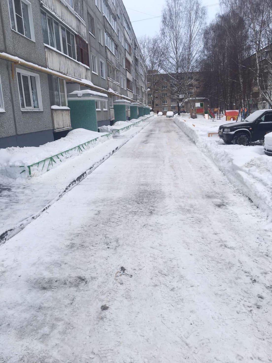 Улица Московская дом 173 механизированная уборка