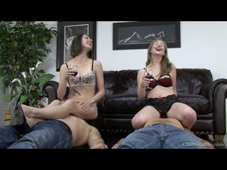 Mistress T & Mistress Bijou - Smotherbox Objectification (Русские субтитры)