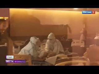 Бесконечные кремации идут нон-стоп в Индии