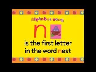 Новая песня про английский алфавит