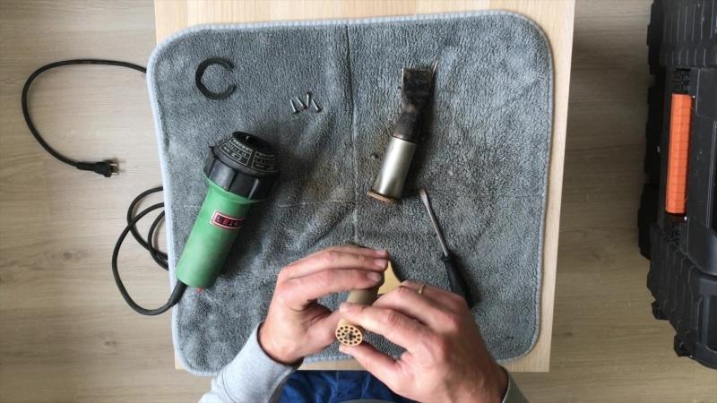 Очистка фена и нагревательного элемента за 6 минут Leister varimat dohle
