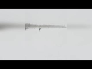 #ВоркутаНеМёд   Лыжня в Воркуте