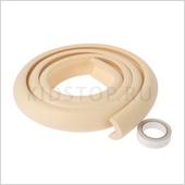 Защитный бампер на острые поверхности, 2 метр бежевый 2 метра узкий