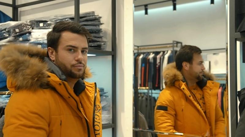 Зимняя длинная куртка с капюшоном от @giovanni__vittori