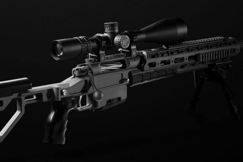 Т-5000, как и все современные снайперские винтовки, перезаряжается вручную. На снимке хорошо видна рукоятка продольно скользящего затвора