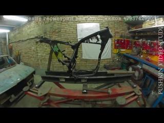 Восстановление _ Ремонт рамы мотоцикла после ДТП TTR250