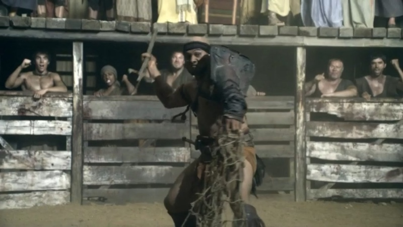 Спартак Боги арены Ретиарий против мурмиллона