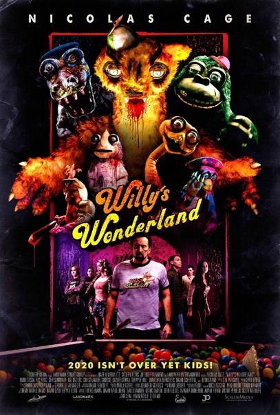 Постер хоррора «Страна чудес Уилли»