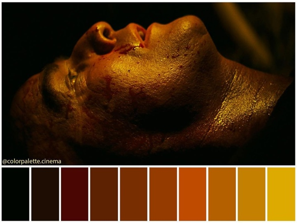 Цветовая гамма классики кинематографа «Апокалипсис сегодня» режиссер Фрэнсис Форд Коппола