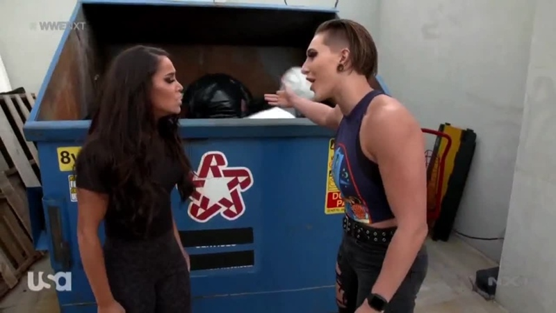 Rhea Ripley Throws Robert Stone In The Trash AGAIN