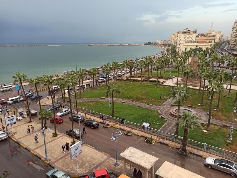 Набережная Александрии
