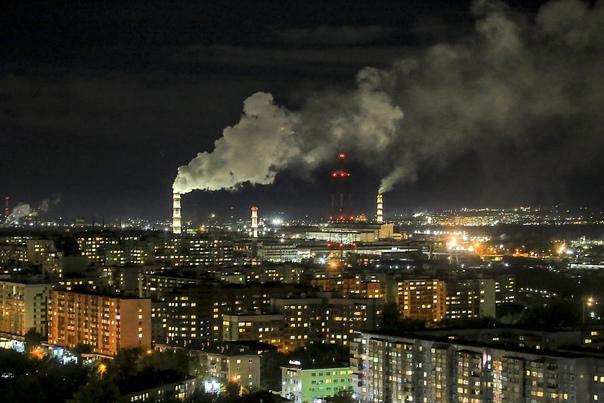 Огни большого города💥Фото Павла Комарова.#nsknews...