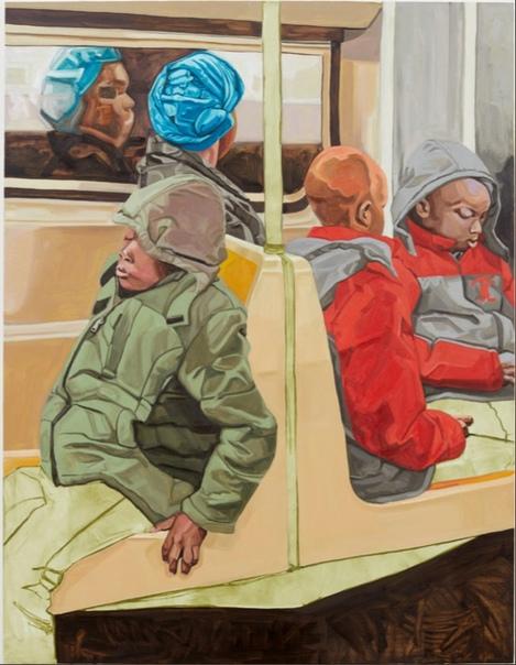 Джордан Кастил ( Jordan Casteel, 1989 г.р., Денвер, Колорадо), живет и работает в Нью-Йорке. Пишет картины по собственным фотографиям людей, с которыми она сталкивается. Ее портреты почти в