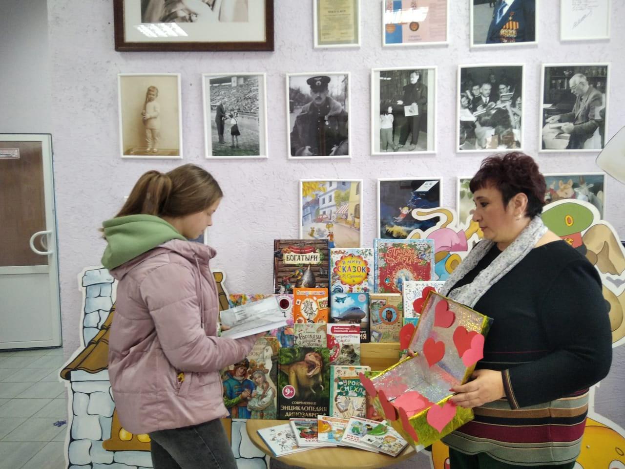 Юные петровчане участвуют в читательской акции