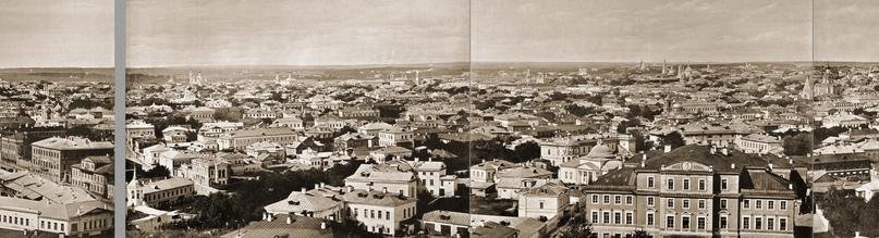 Москва без людей в 1867 году. Где все люди?, изображение №35