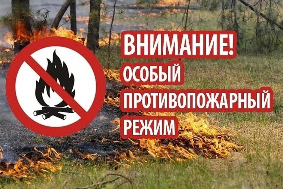 Внимание! С 18 июня 2021 года введён особый противопожарный режим!