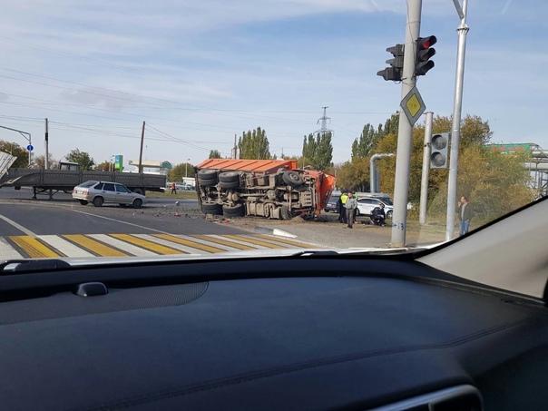 Авария на перекрестке автодорога 6 и 7. Столкнулис...