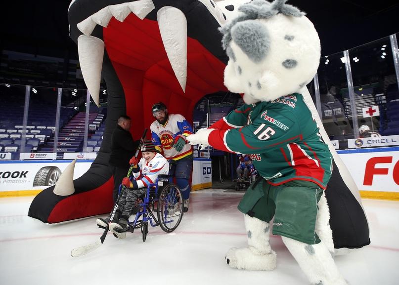 13 февраля в Казани состоится юбилейный матч благотворительного проекта «Хоккей каждому», изображение №1