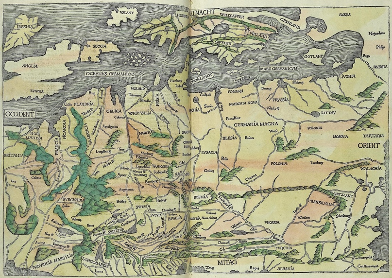 "«Нюрнбергская хроника"" Хартманна Шеделя (1493)"