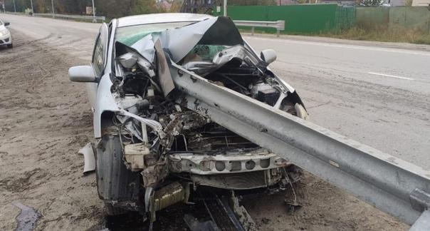 Вблизи Нижневартовска водитель потеряла сознание з...