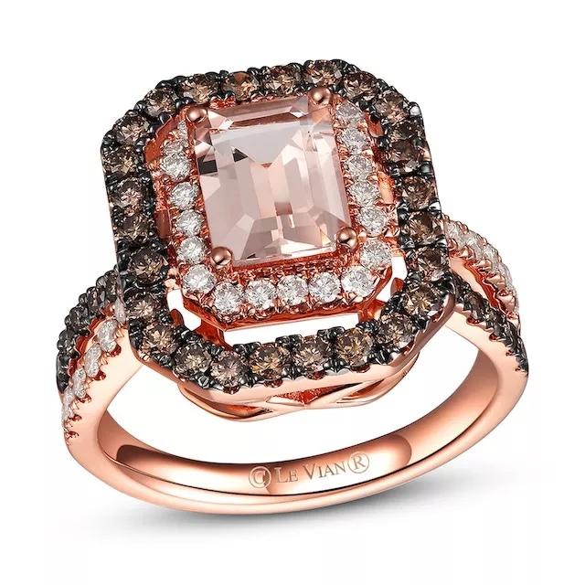 unGvfD8KZAc - Шоколадные бриллианты в обручальных кольцах - звучит мечтательно