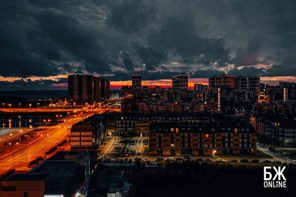 🌃 Ночная Балтийская жемчужина завораживает! Фото и...