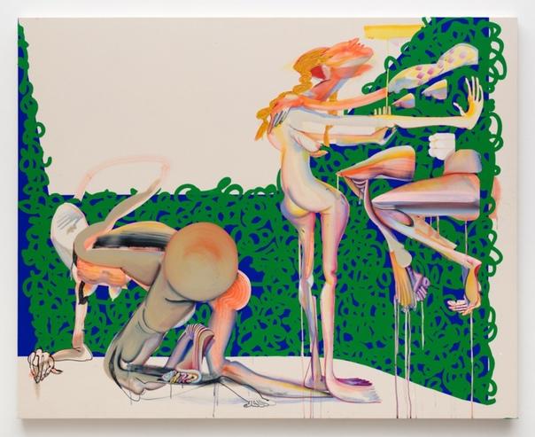 Кристина Куорлз (Christina Quarles, 1985 г.р., США) Хотя ее работы, безусловно, имеет деконструктивный аспект, в них также присутствует вклад в телесную природу красоты и наслаждениянечто