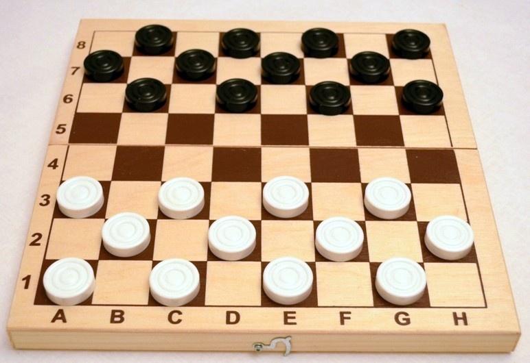 Личное первенство Юрминского сельского поселения по шашкам проходило по круговой системе.