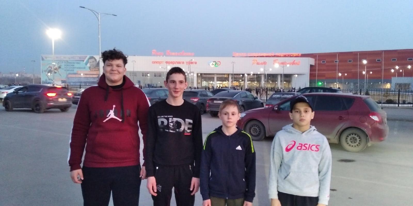 Можгинские спортсмены выступили на Первенстве России по
