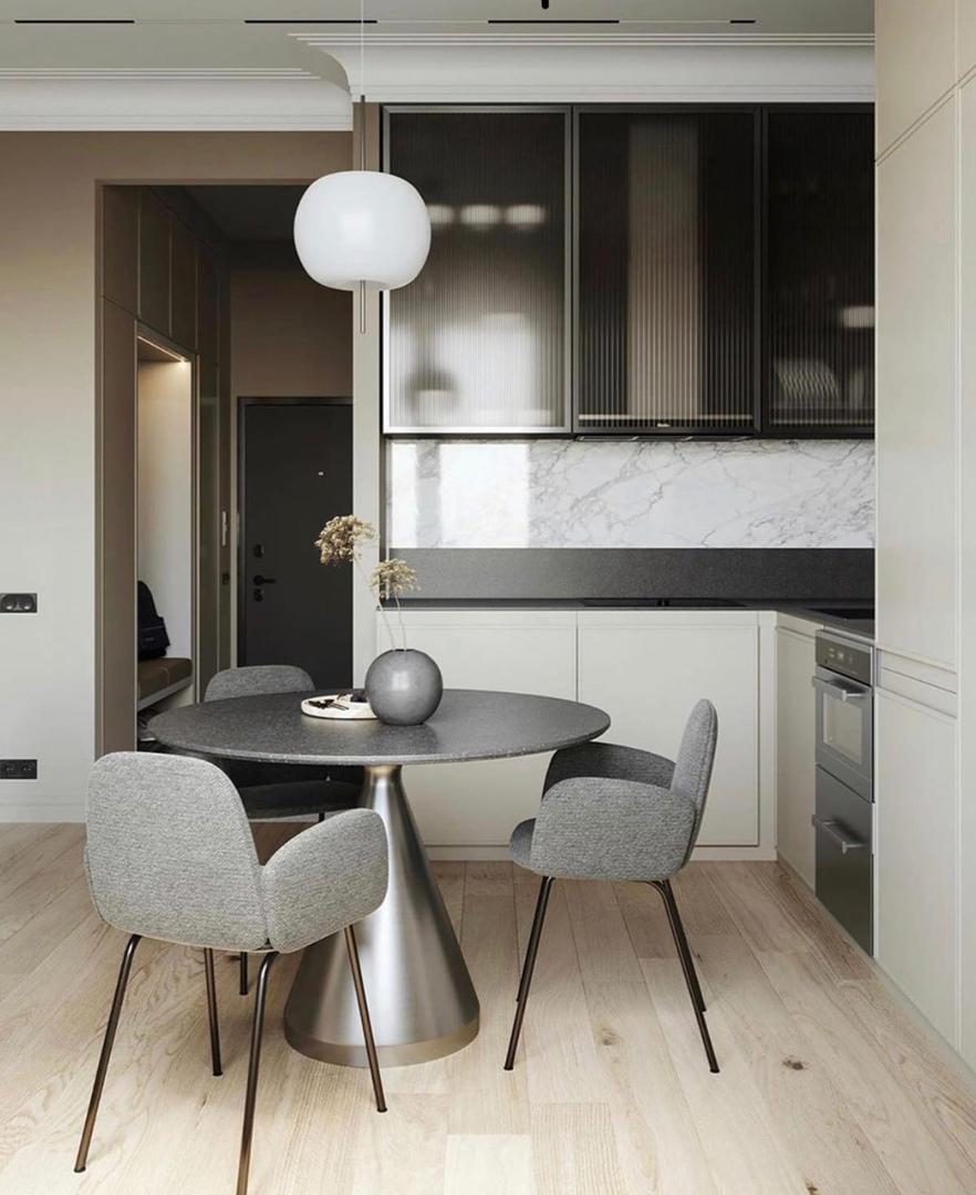 Проект квартиры-студии 43 кв.